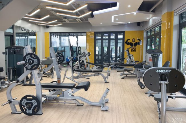 Dự án Luxury Fitness