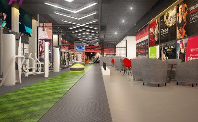 Mẫu thiết kế Phòng Gym 500m2 ( 1.5 – 2 tỷ )
