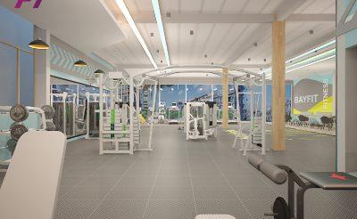 Mẫu thiết kế phòng Gym 400m2 ( 1.5-2 tỷ )