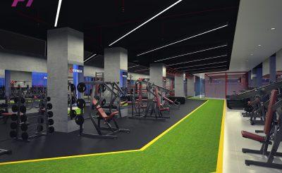 Mẫu thiết kế phòng Gym 600m2 (1.5- 2 tỷ )