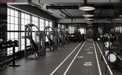 Mẫu thiết kế phòng Gym 400m2 ( 600- 800 Triệu )