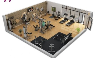Ngân sách Setup Phòng Gym 250-300 Triệu