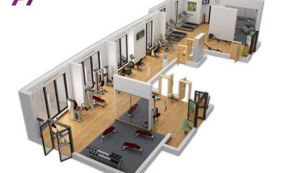 Ngân sách Setup Phòng Gym 450-500 Triệu