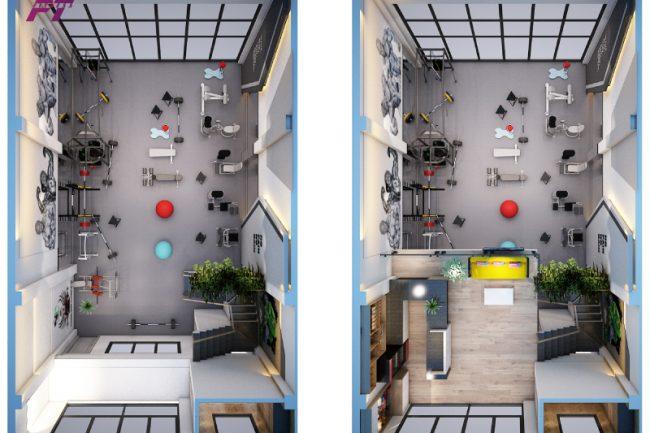Ngân sách Setup Phòng Gym2 250-300tr
