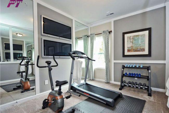 Ngân sách đầu tư Setup phòng Gym gia đình 10-20 Triệu