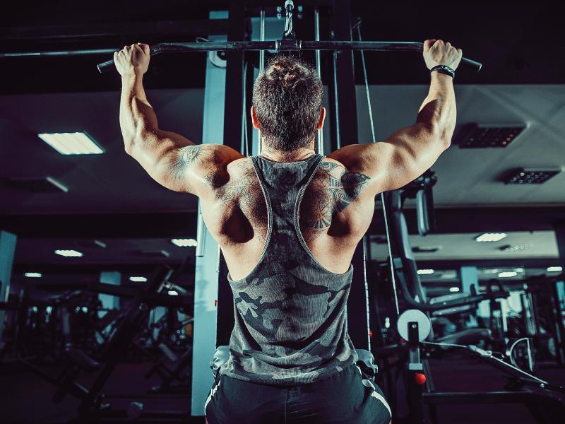 Máy tập cơ lưng xô