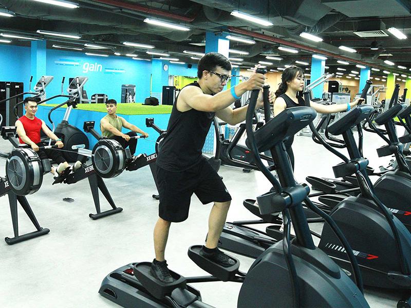đối tượng khách hàng nhắm đếm khi setup phòng gym