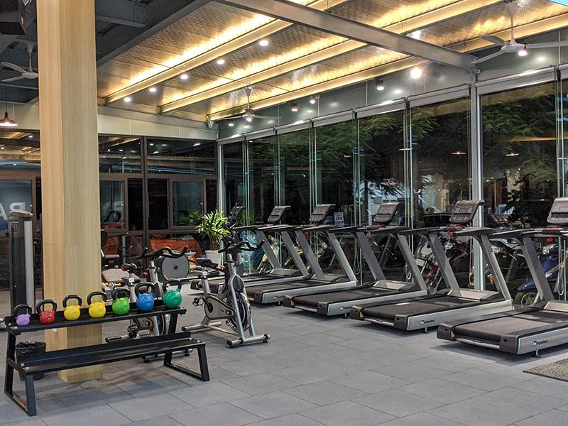 setup phòng tạp gym bayfit tại quảng ninh