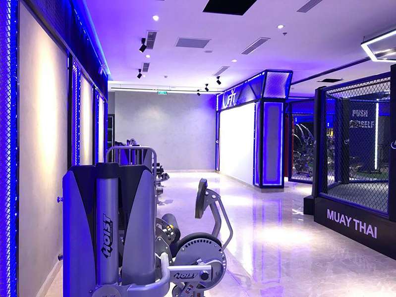 setup phòng tạp gym iFit tại quảng ninh