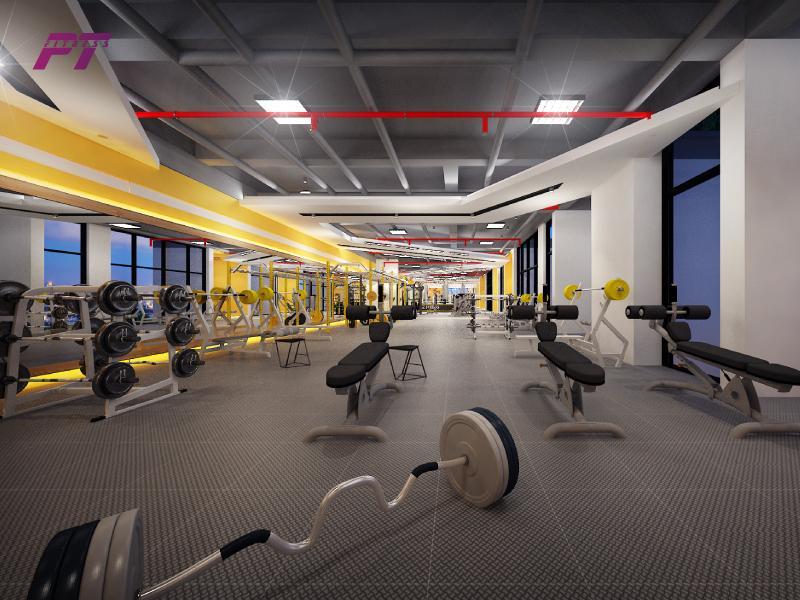 Diện tích phòng tập gym cần đủ rộng