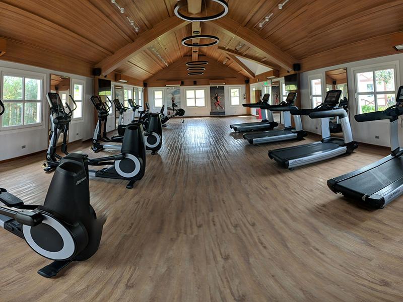 Mẫu thiết kế phòng gym resort đẹp yên tĩnh