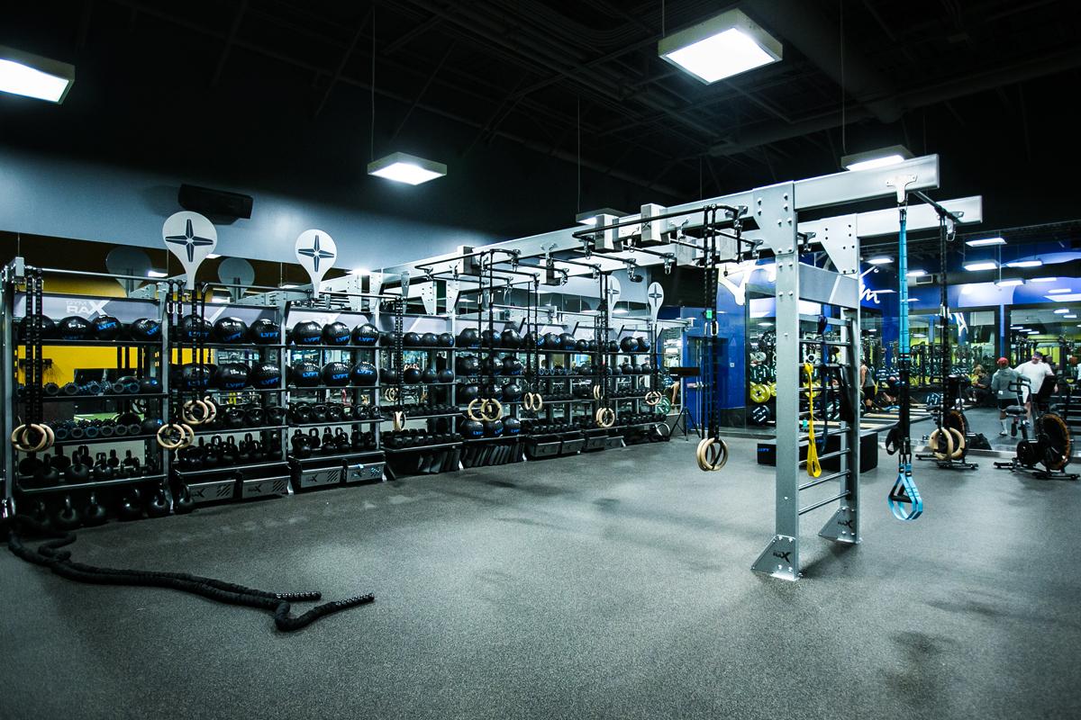 Mẫu thiết kế phòng gym 100m2 đẹp nhất