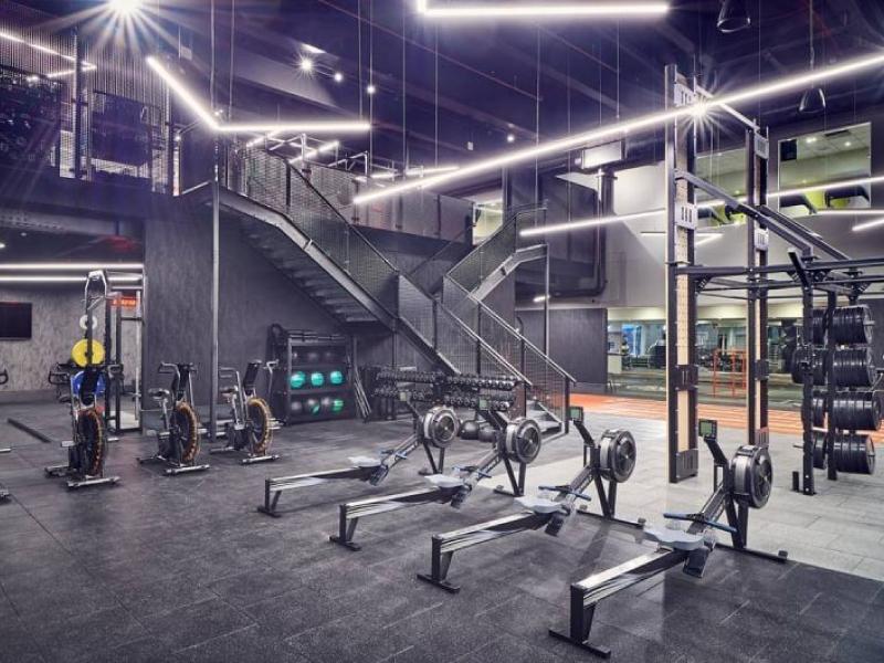 Mẫu thiết kế phòng gym đẹp cá tính