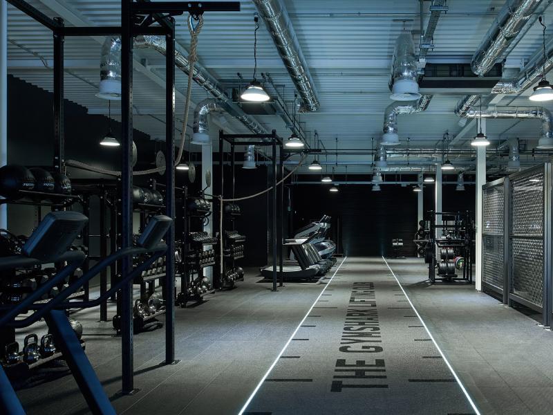 Thiết kế phòng gym đẹp năng động và trẻ trung