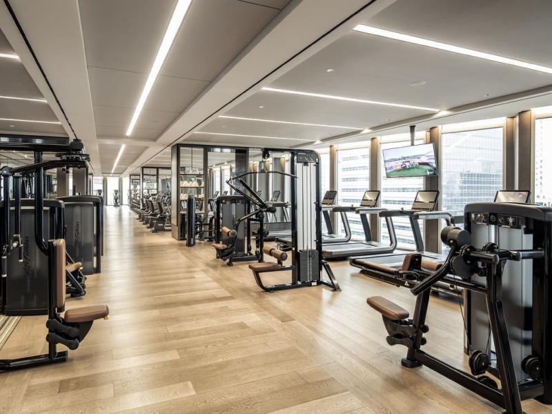mẫu thiết kế phòng gym đẹp