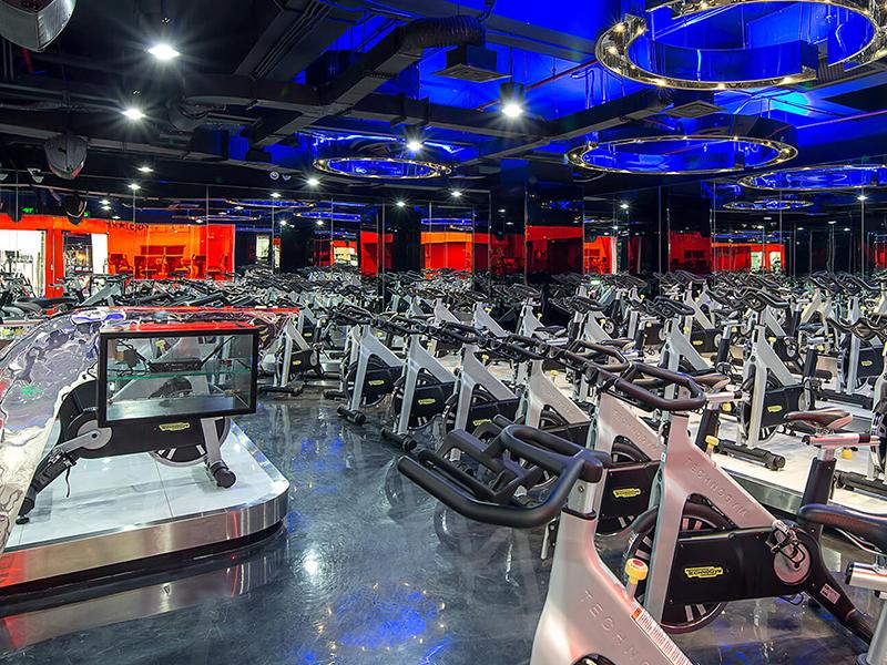 mẫu thiết kế phòng gym 2020