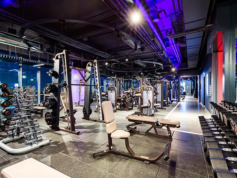 Thiết kế phòng gym hiện đại cao cấp đem lại nhiều trải nghiệm người dùng