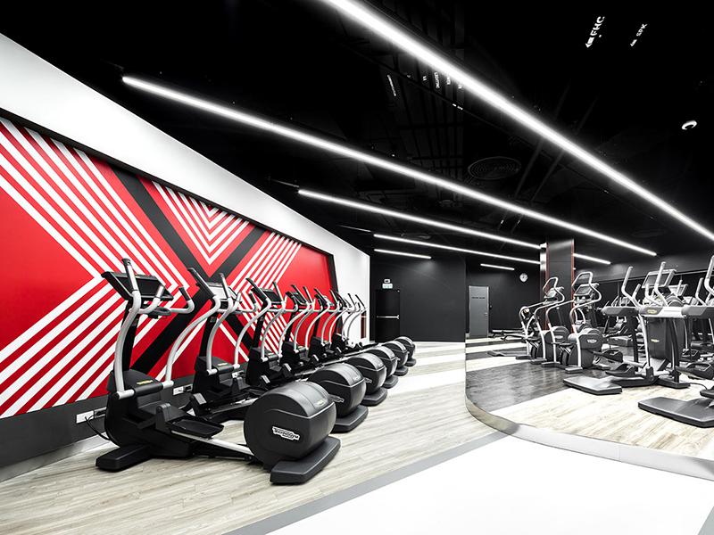 Phòng gym phong cách California