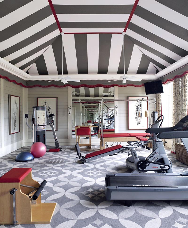 Những mẫu thiết kế phòng gym đẹp