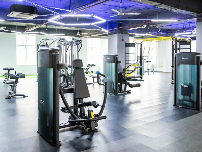 Setup phòng gym impulse với nhiều thiết bị hiện đại