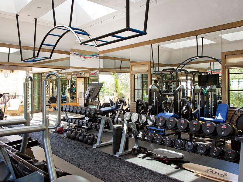 Thiết kế phòng gym gia đình