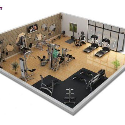 Gói setup phòng gym 300tr