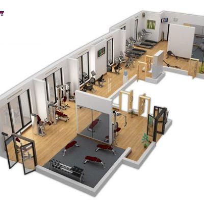 Gói setup phòng gym 450tr