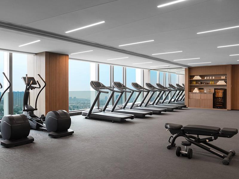 Thiết kế phòng gym khách sạn cần lựa chọn vị trí phù hợp