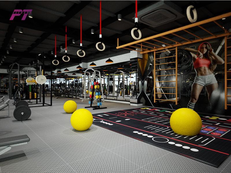 Chi phí thiết kế phòng gym