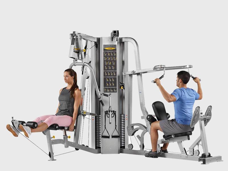 Dàn tập multi-gym Hoist H2200 đa chức năng phù hợp cho phòng tập gym khách sạn resort