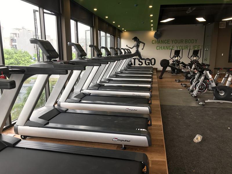 Dụng cụ phòng gym chiếm số vốn nhiều nhất trong chi phí đầu tư