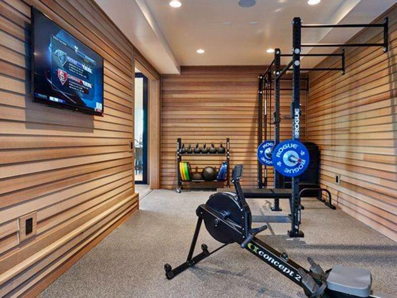 Mẫu phòng gym tại nhà tiết kiệm chi phí