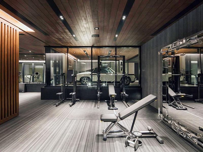 Mẫu thiết kế phòng gym hiện đại