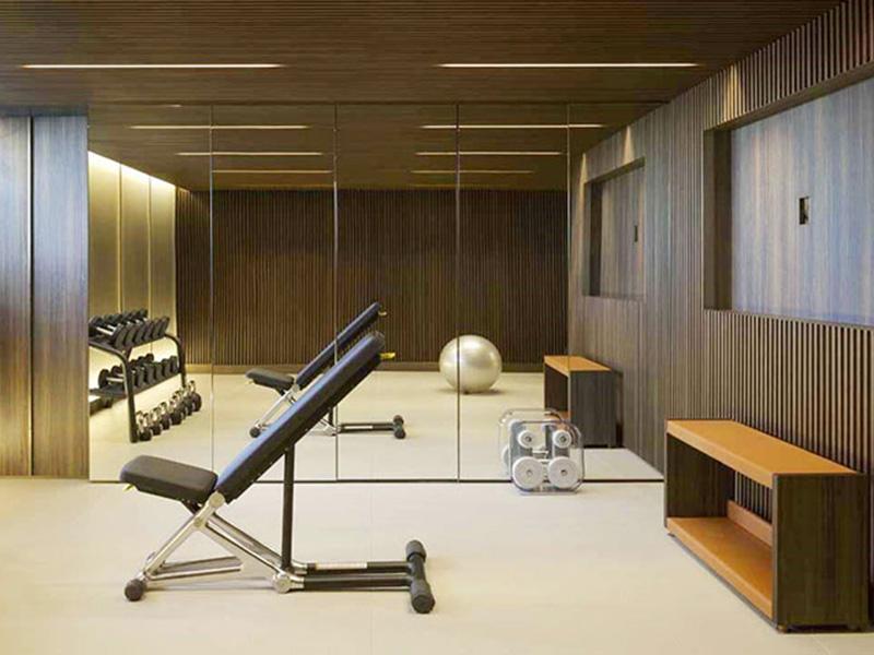 Mẫu thiết kế phòng gym tại nhà đơn giản
