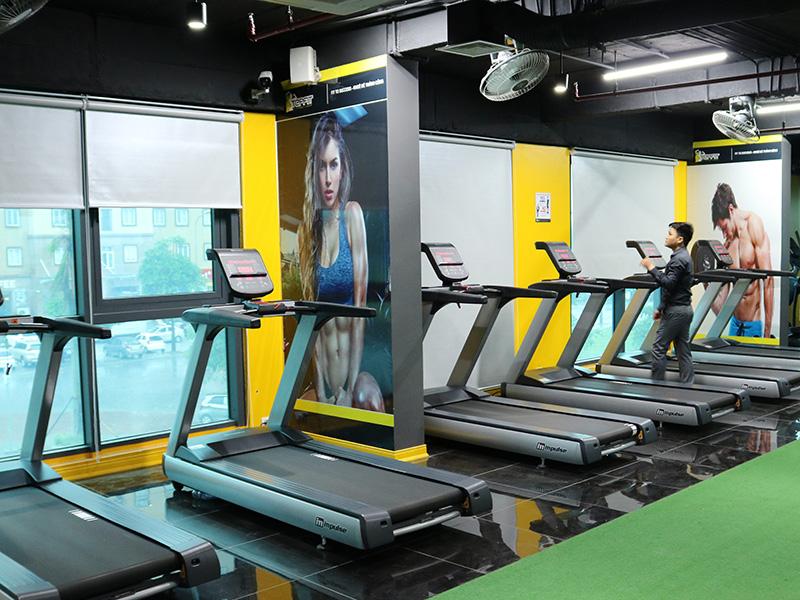 Độ bền của thiết bị phòng gym rất cao, chi phí bảo trì thấp
