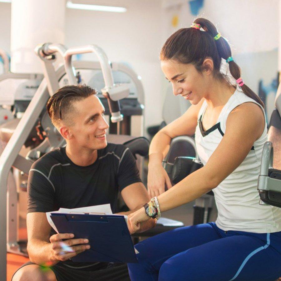 Nhân sự phòng gym