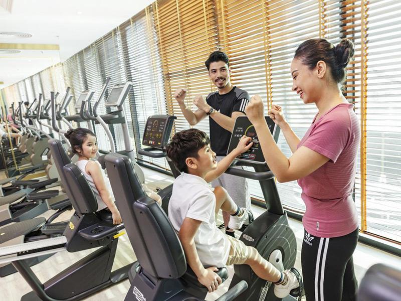 Nhu cầu trong tập luyện của khách hàng tại phòng gym khách sạn rất phong phú