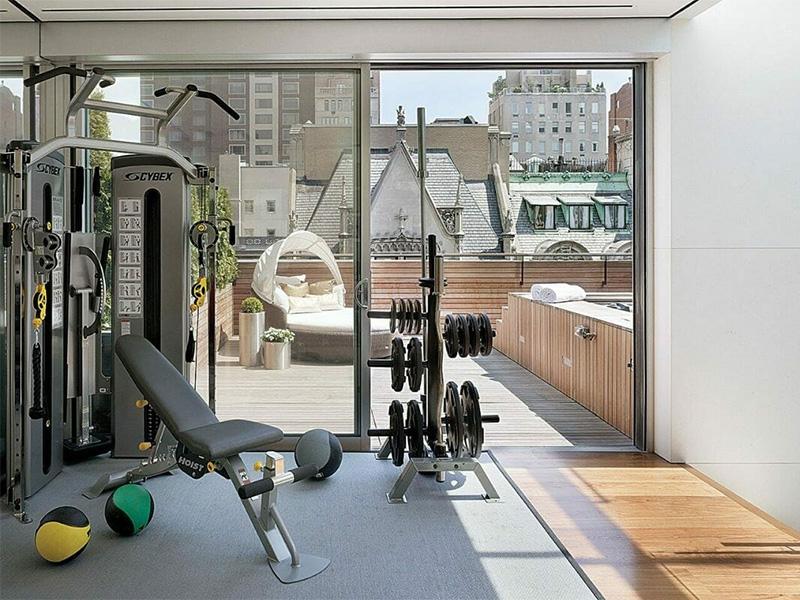 Thời tiết sẽ không là vấn đề nếu bạn có phòng gym tại nhà mình