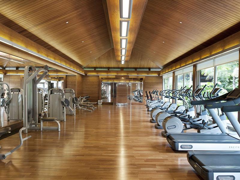 Mẫu thiết kế phòng gym ấn tượng tại resort