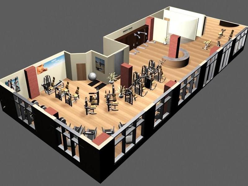 Bố trí lắp đặt phòng gym chuyên nghiệp