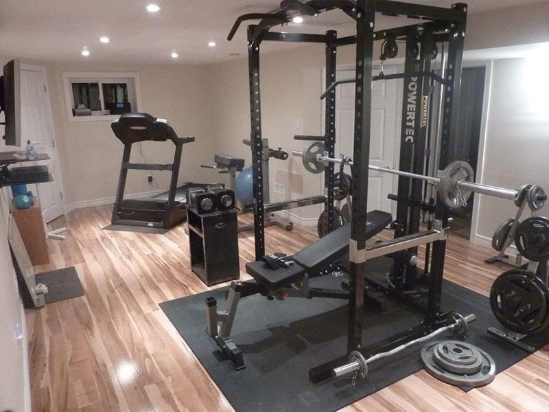 Trang thiết bị cần có cho một phòng gym homestay