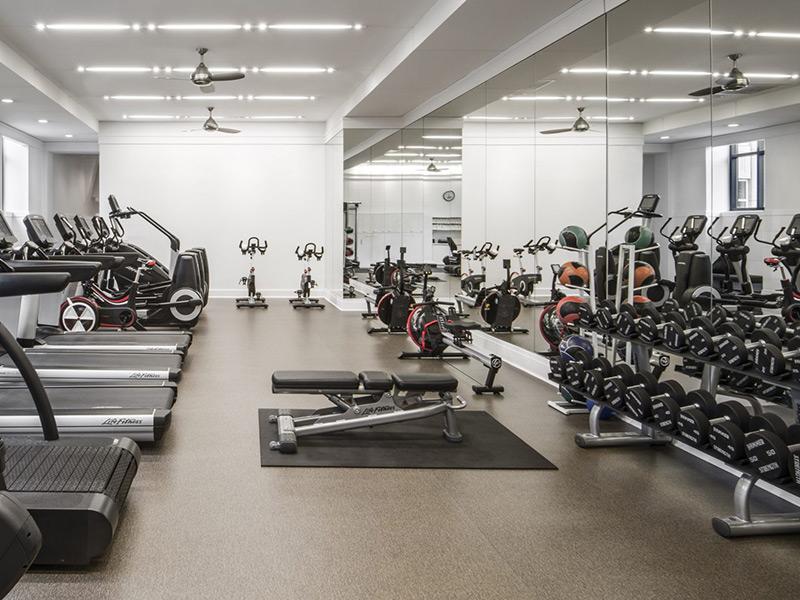 Mẫu thiết kế phòng gym ân tượng nhỏ tại chung cư