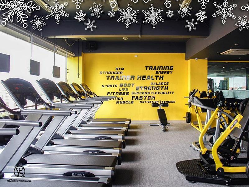 Mẫu thiết kế phòng gym ấn tượng cùng trang trí sáng tạo