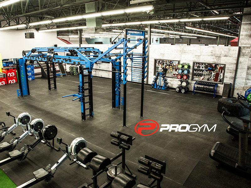 Mẫu thiết kế phòng gym với nhiều trang thiết bị