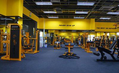 Top 5 mẫu thiết kế phòng gym màu vàng hợp với người mệnh Kim và Thủy