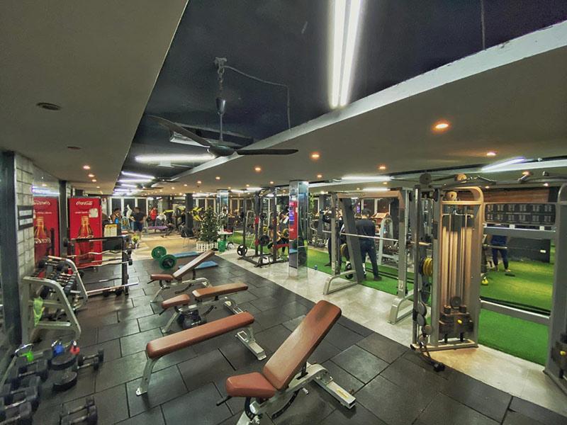 Mẫu thiết kế phòng gym sang chảnh