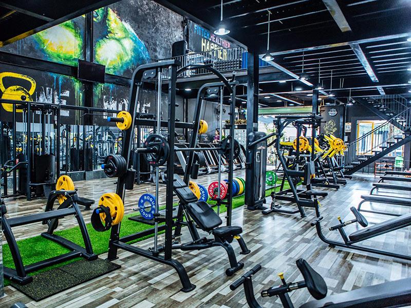Mẫu thiết kế phòng gym sang chảnh 1