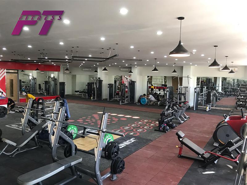 Setup phòng gym 300m2 với PT FITNESS