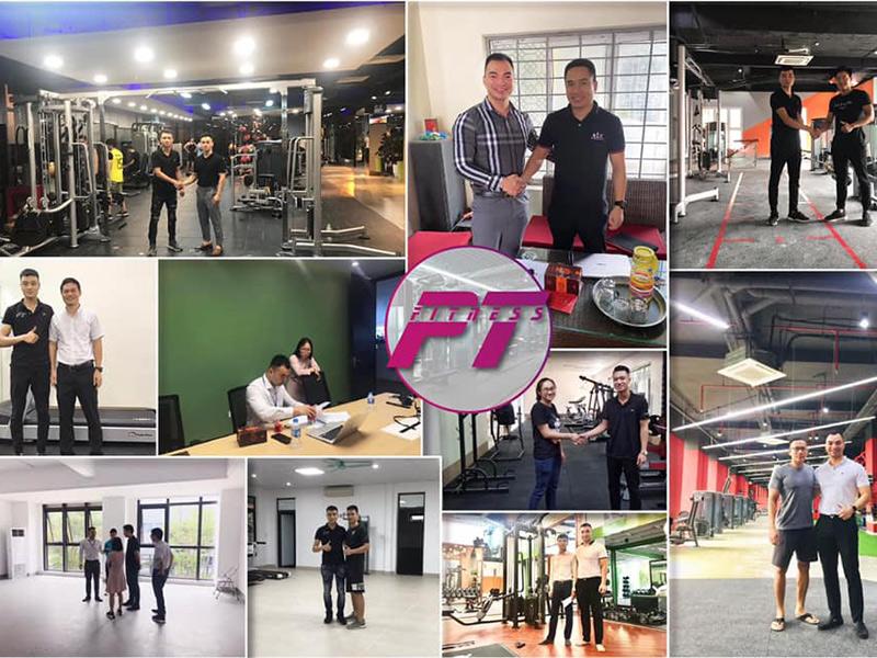 Setup phòng gym trọn gói chuyên nghiệp với pt fitness