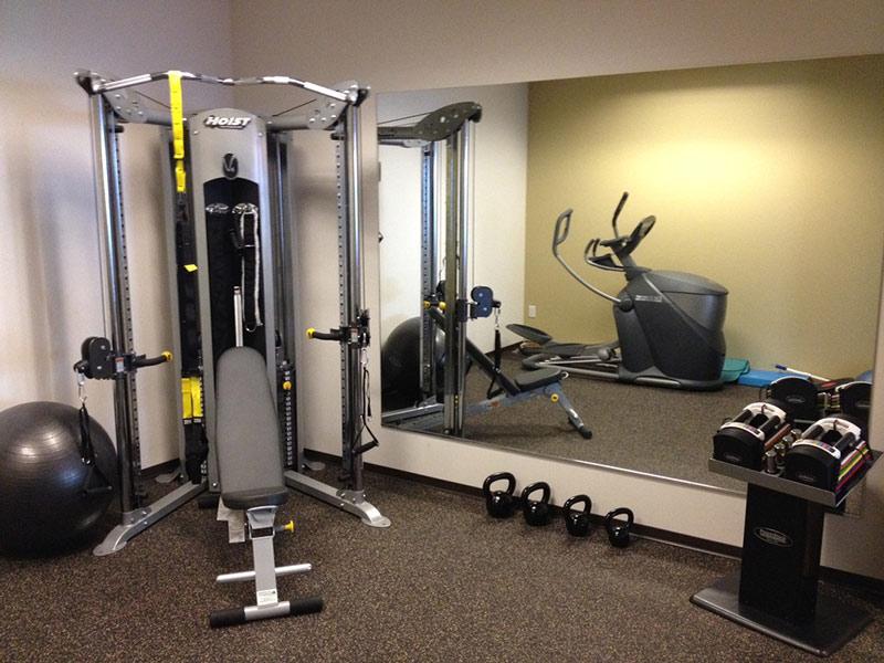 Diện tích setup và vận hành phòng tập gym homestay